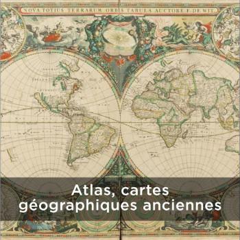 Atlas, cartes géographiques anciennes