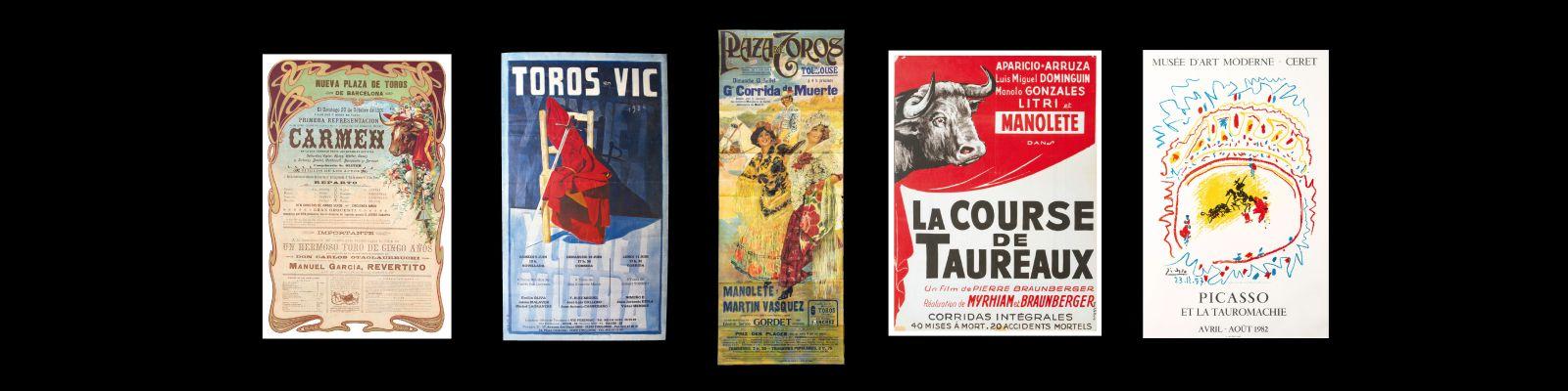 Vente aux enchères Espagne tauromachie affiches estimation